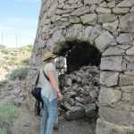 The beehive kilns are crumbling away, today